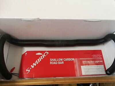 Specialized S -Works Carbon Shallow Drop Handlebars 42cm • 100£