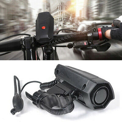 110dB Cycling Battery Powered Durable Safety Black Riding Loud Bike Horn • 8.72£