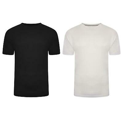 Pierre Roche Mens Big And Tall T Shirts Pack Of 6 & Pack Of 2 Plus Casual Tee  • 18.99£