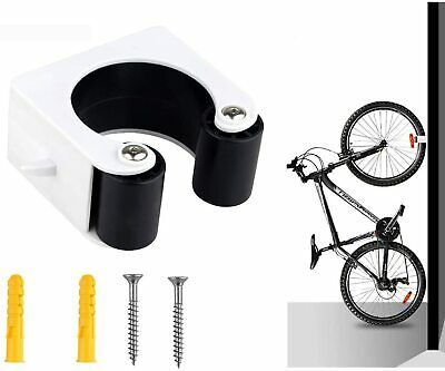 Bicycle Parking Clip Indoor Mountain Bike Storage Wall Rack Bicycle Hook Hanger • 6.19£