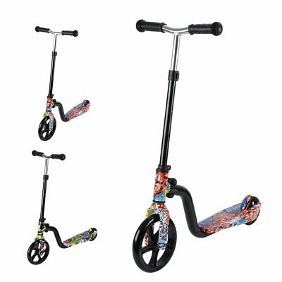 Teen Push Scooter Kids Children Stunt Scooter Bike Bicycle Ride On 8  Tyres New • 22.99£