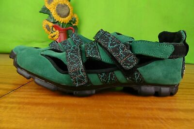 Green Adidas Vtg 1995 Cycling Shoes Size 42 Uk 8 • 54.99£