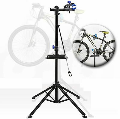 Bicycle Repair Stand Professional Maintenance Mechanic Bike Stand With Tool Tray • 36.49£