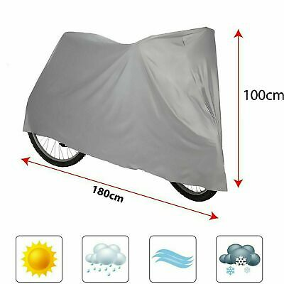 Waterproof Universal BICYCLE Bike COVER UV Weather Dust Rust Resistant Cycle • 3.75£