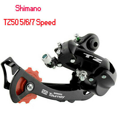 1Pc Shimano Tourney TZ50 5/6 /7Speed Direct Mount MTB Rear Mech Derailleur • 8.69£