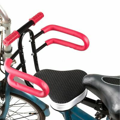 Safety Child Baby Kids Bike Bicycle Seat Front Carrier With Handrail Armrest NEW • 12.07£