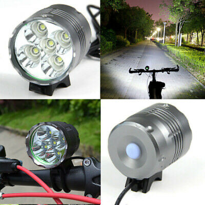 5200LM Cree XML T6 5 LED MTB Mountain Bicycle Bike Front Lights Headlight Lamp • 18.99£