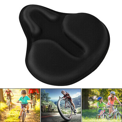 Road Bike Seat Cover Ex Comfort Soft Gel Cushion Exercise Bike Saddle Seat Cover • 13.98£