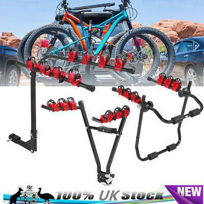3/4 Car Bike Bicycle Rack Vehicle Trunk SUV Universal Bike Carrier Mount Hanger • 36.95£