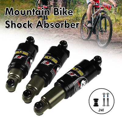 UK Mountain Bike Bicycle MTB Air Shock Rear Absorber Cycling Downhill Damping • 21.99£