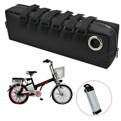 40cm Electric Bike Battery Bag Case Cover Bicycle Storage Waterproof Protective • 19.99£