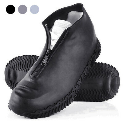 Recyclable Silicone Overshoes Rain Waterproof Shoe Covers Boot Cover Protector • 11.19£