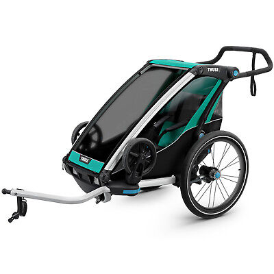 Thule Chariot Lite 1 Single-Seater Pendant Bicycle Trailer Children's Earrings • 506.07£