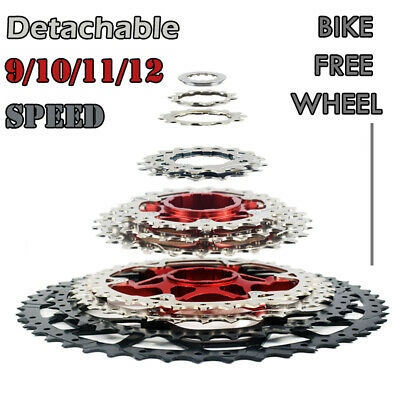 9/10/11/12 Speed MTB Mountain Bike Cassette Bicycle Freewheel Bracket Sprocket • 26.79£