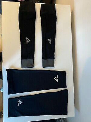 Adidas Cycling Arm And Knee Warmers Set Size Small • 15£
