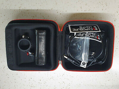 Exposure Strada MK10 Road Sport Front Light With Bar Remote - Little Used • 90£