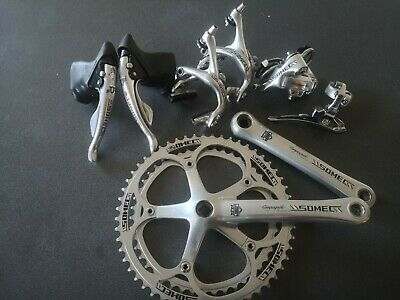 SOMEC Pantographed Campagnolo Groupset, 8 Speed, 1990s, Chorus & Record  • 267£