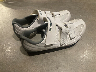 Shimano Pedaling Dynamics RP2W Womans Cycle Shoes Hardly Worn Size 6 • 40£