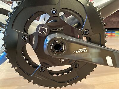 Sram Force 22 Groupset With Quarq Elsa PM 53/39 • 650£