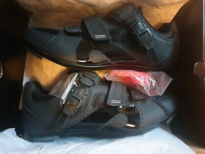 Peloton Cycling Studio Shoes All Black Size 45 New Boxed Uk 10.5 With Cleats • 98£
