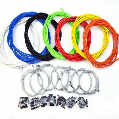 Jagwire Gear Cable Brake Set Inner&Outer Front&Rear MTB Mountain Bike Bicycle UK • 6.26£