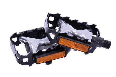 Alloy Mtb Pedals From Wellgo 9/16  Bike Alloy Body Pedals At Bargain Price New • 6.99£