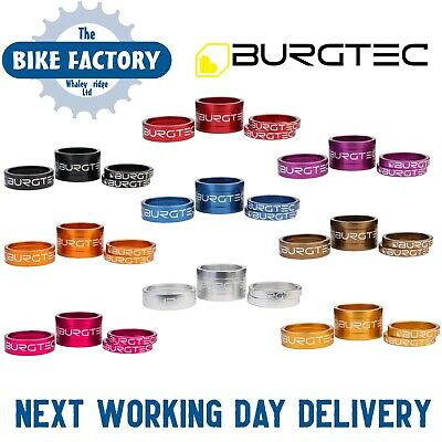 Burgtec Stem Spacer Kit - All Colour Options - UK Seller - Fast Postage • 9.95£