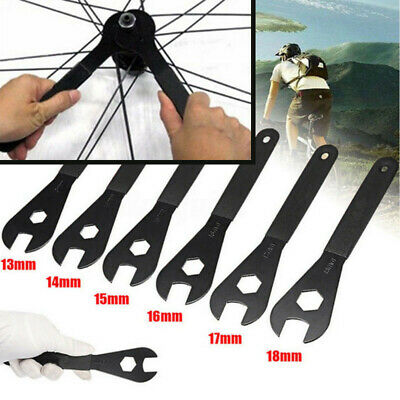 Bicycle Cycling CONE SPANNER Bike Repair Tool Wrench Spindle Axle Bike Hub Fix • 3.95£
