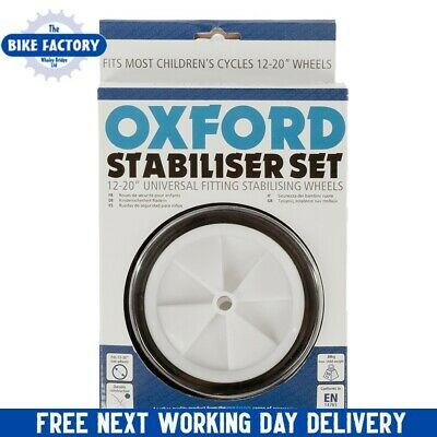 Stabiliser Set 12-20'' Universal Fitting - Oxford - Training Wheels - Fast P&P • 14.99£
