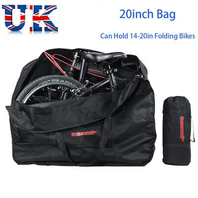 20inch Waterproof Folding Bike Carrier Bicycle Transport Storage Bag Dust Cover • 14.99£