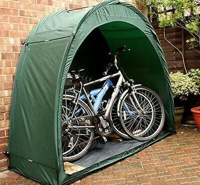 BIKE TIDY DELUXE TENT GARDEN STORAGE BICYCLE SCOOTER MOTORBIKE COVER Waterproof • 47.99£