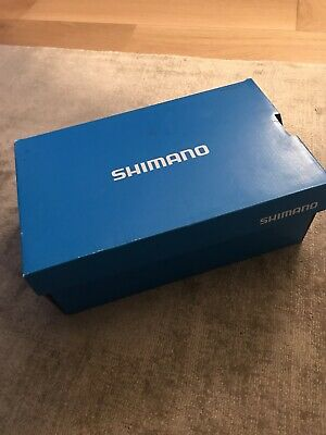 Shimano Road Bike Shoes With Cleats. ME2 Black / White Size EUR 42 • 25£