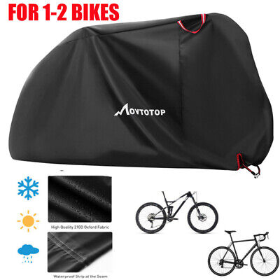 Mountain Bike Bicycle Rain Cover Waterproof Heavy Duty Cycle Cover Storage Bag • 16.49£