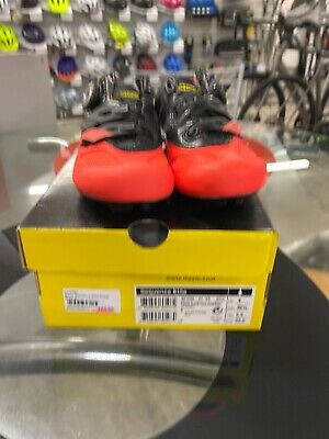 Mavic Sequence Elite Womens Road Cycling Shoe Black/Fiery Coral • 50£