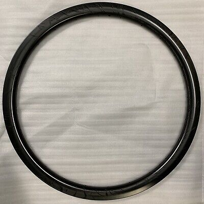 38mm Carbon Tubeless Disc Rim. 26mm Wide. 24hole. 24h Taiwanese. 398g. Free P&P. • 110£