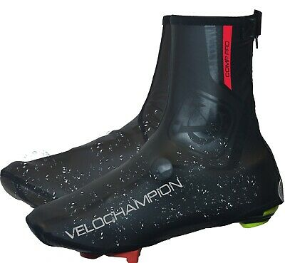 Winter Cycling Biking Water Repellent Windproof Overshoes With Fleece Lining  • 9.95£