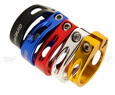5 Colors 31.8/34.9mm  MTB Bike Cycling Bicycle Seat Post Clamp Aluminum Alloy • 4.99£
