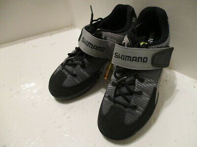 Shimano MTB Shoes SPD SH-M038 Size 37 Black Grey SOPO E126 • 25.99£