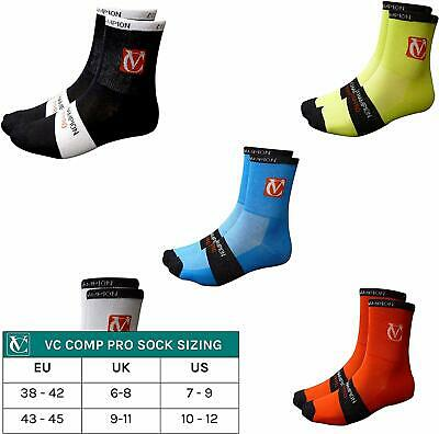 VC Comp Pro Cycling Running Cotton Ankle Socks 3 Pack • 6.95£