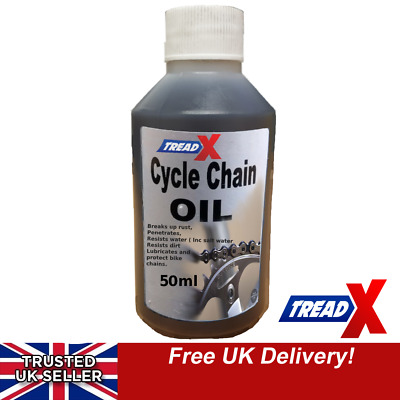 Bicycle / Cycle Lubricant Oil Cleaning Chain Cable Mountain And Road Bike 50ml • 3.75£