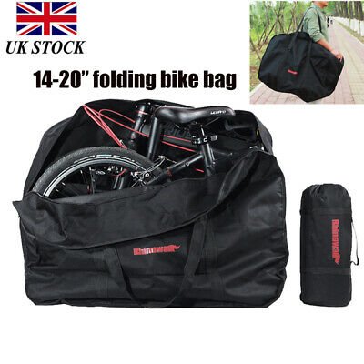Portable Folding Bike Transportation Bag Carrier Storage Case For 14-20  Bicycle • 14.95£
