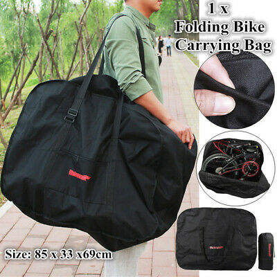 Folding Bike Travel Bag Transport Bicycle Outdoors Carrying Case For 20  Wheel • 15.79£