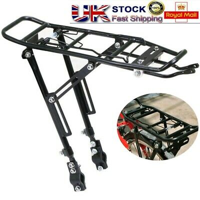 Portable Bicycle Mountain Bike Rear Rack Seat Post Mount Pannier Luggage Carrier • 15.79£