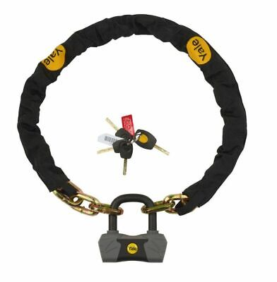 Yale Max Security Defendor Chain & Lock 1100mm (Sold Secure Gold) YCL3/10/110/1 • 43.99£