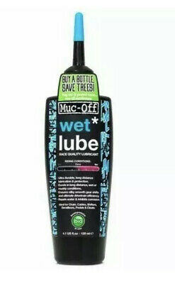 Muc-Off Bike Chain Lube 120ml - Wet Bicycle Chain Oil • 8.35£