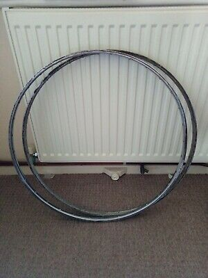 Pair Of Vintage Dunlop Special Lightweight 27  X 1 1/4  Bicycle Rims 32/40 • 30£