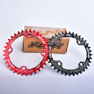 Bike Narrow Wide Round Chainring Ring BCD 104mm 32 34 36T Single Tooth Chain UK • 8.77£