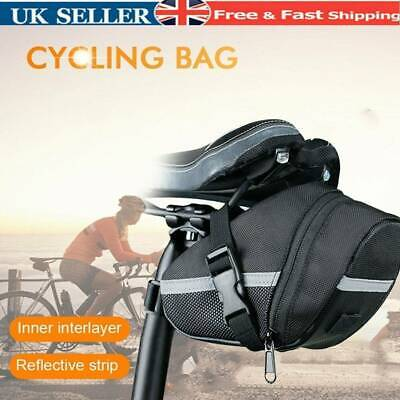 Bicycle Waterproof Storage Saddle Bag Bike Seat Cycling Rear Pouch Outdoor Youth • 6.95£