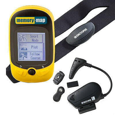 Memory Map 270 Bike Cyclist Running GPS Tracker With Heart Rate Monitor/Cadence • 49.99£
