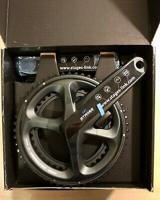 Stages Cycling Power Meter Ultegra R8000 L/R Dual Sided 53/39T 170mm • 650£
